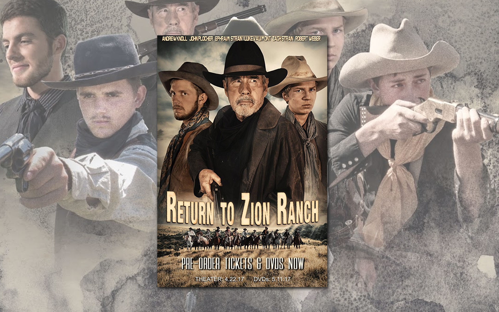 Return to Zion Ranch DVD Cover Image featuring Zion Stage Line